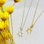 MiniLALI Star of David Necklace