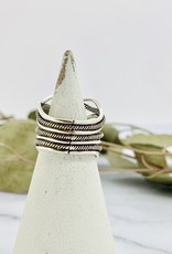 Sterling Silver Mulit Wavy Bands Ring