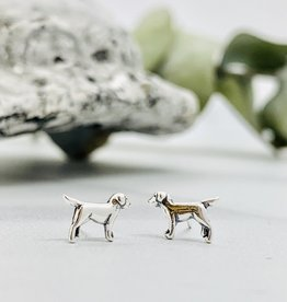 Labrador Dog Earrings