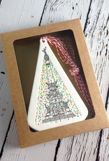 Holiday Monument Ornament Boxed set of 10