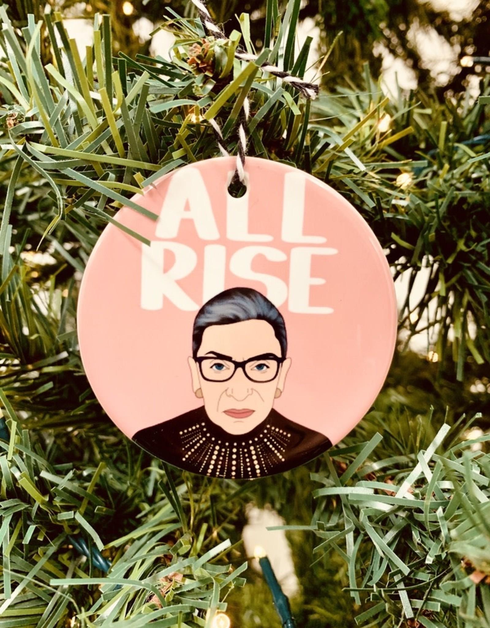 RBG All Rise Ornament