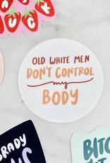 Craft Boner Old White Men Sticker