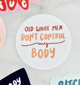 Craft Boner Old White Men Sticker