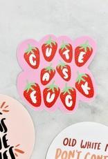 Craft Boner Cute as Fuck Sticker