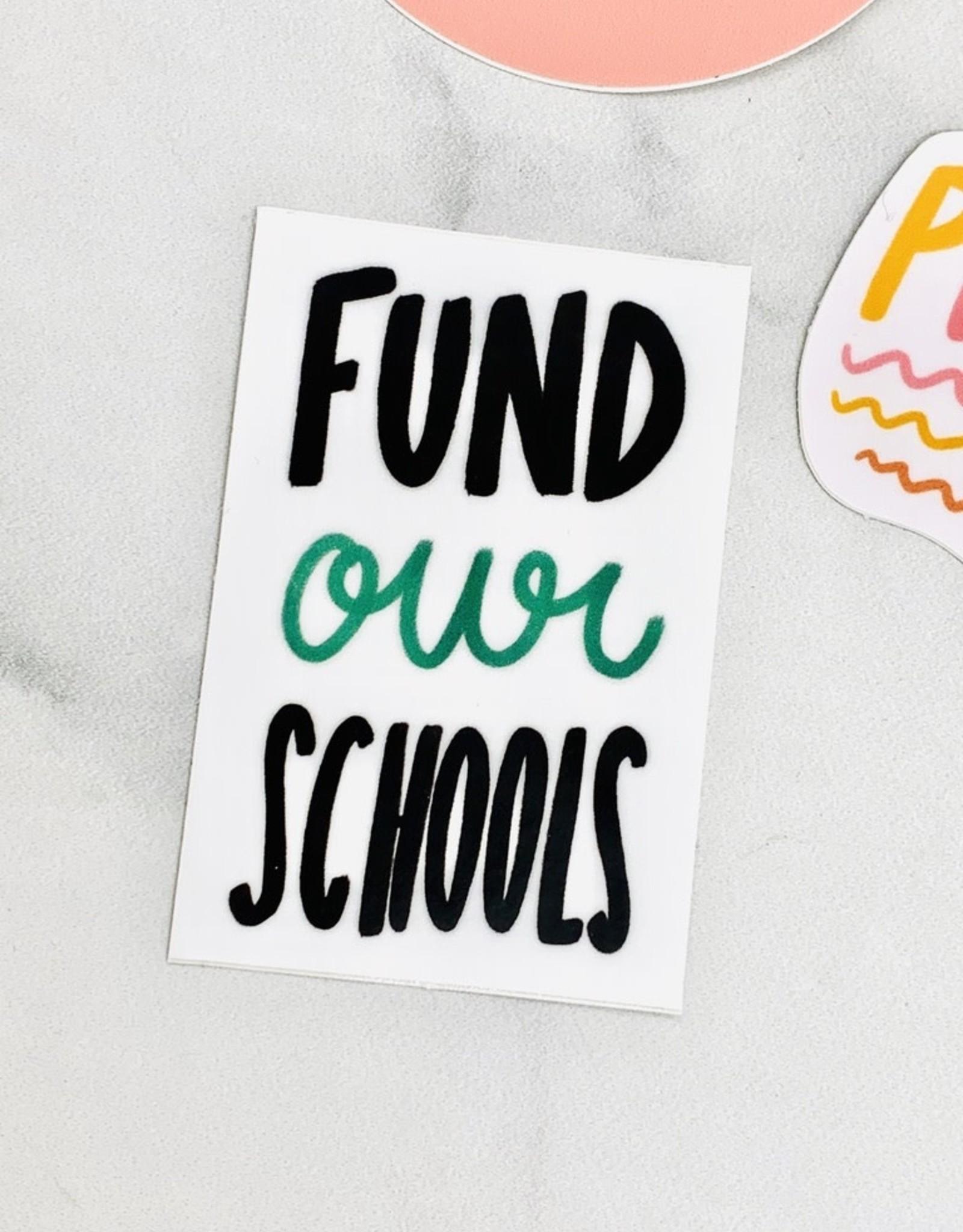 Craft Boner Fund Our Schools Sticker