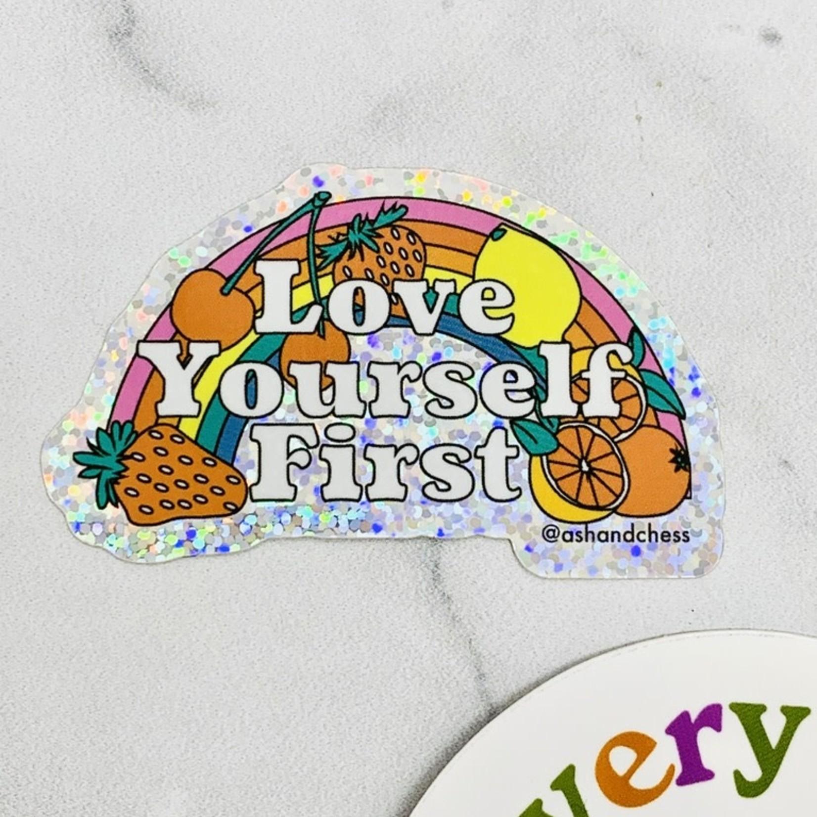 Love Yourself First Sticker
