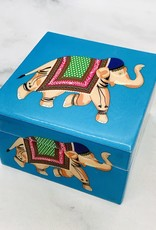 Small Blue Cais Jewelry Box