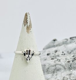 Nina Designs Small Bird Skull Ring