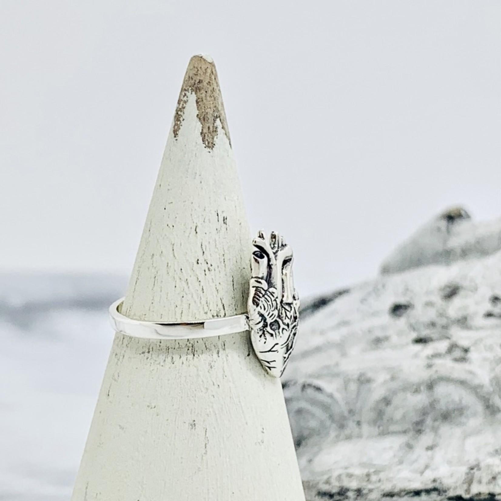 Nina Designs Anatomical Heart Ring