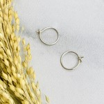 Nina Designs Circle Hoop Earrings, 11x11mm
