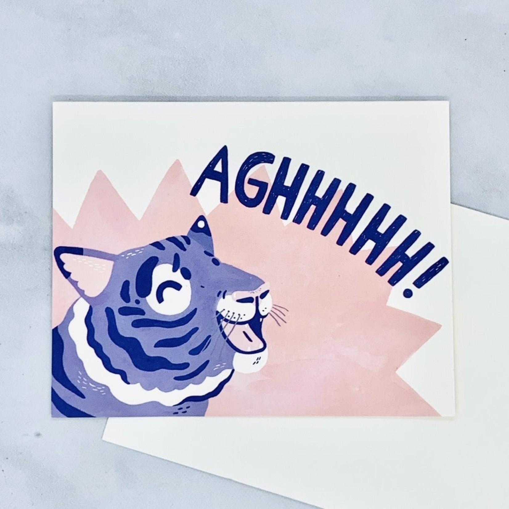 LM Card - Aghhhh (LV)