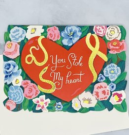 Stole My Heart DIE CUT FOIL Card