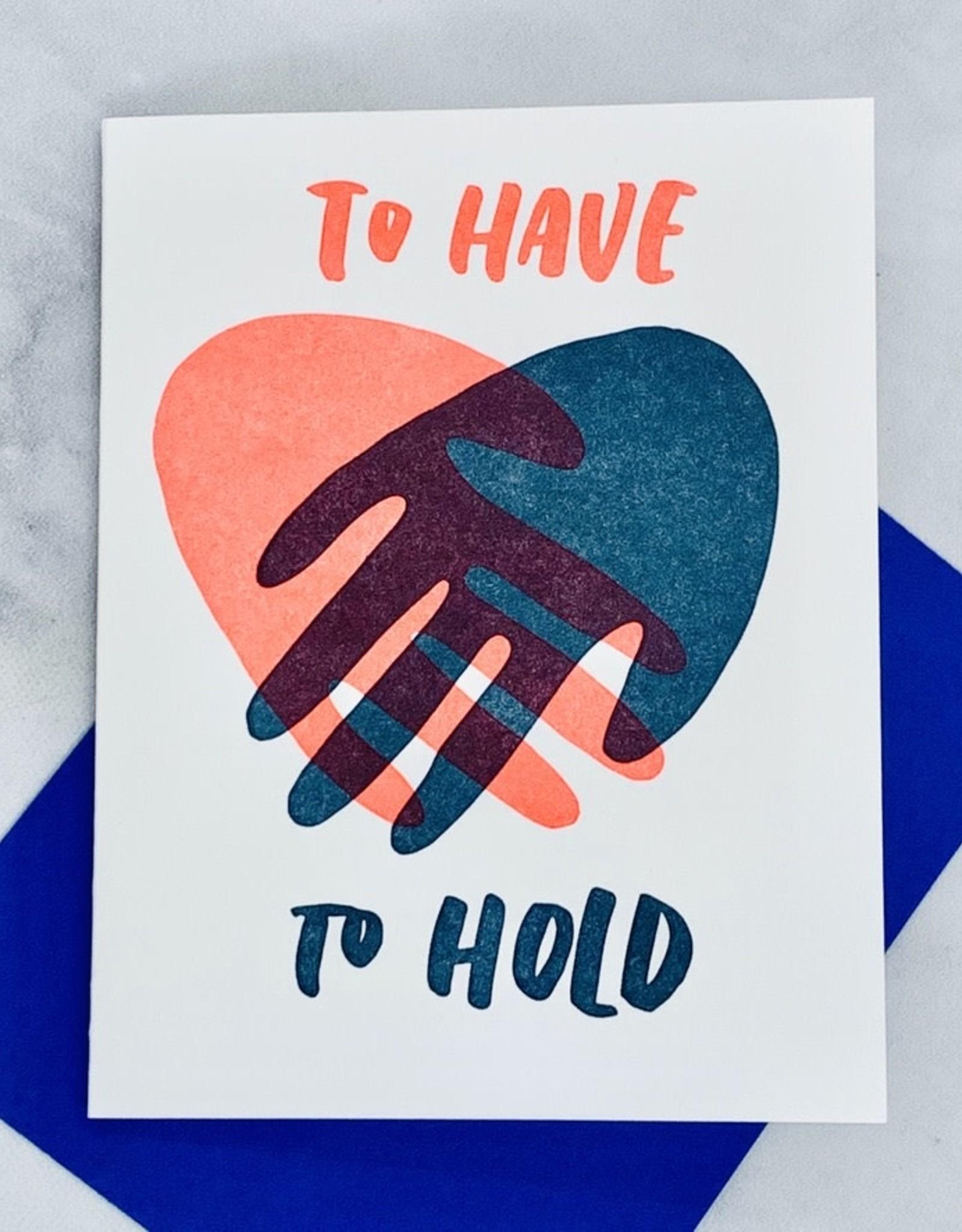 Hand Hold Card