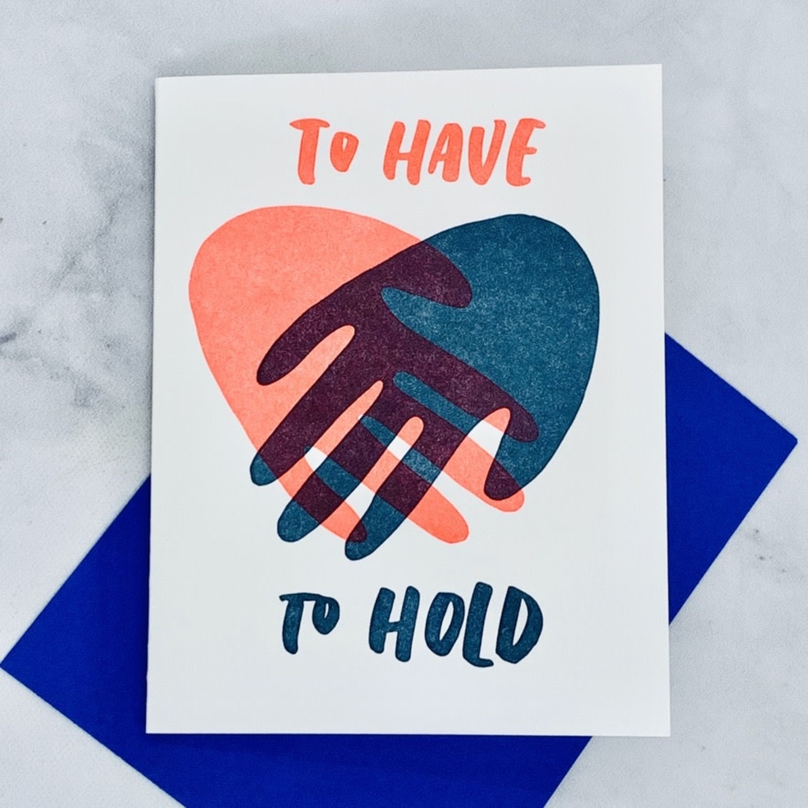 Hand Hold Card