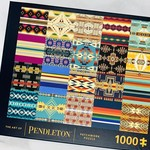 The Art of Pendleton Patchwork 1000-Piece Jigsaw Puzzle