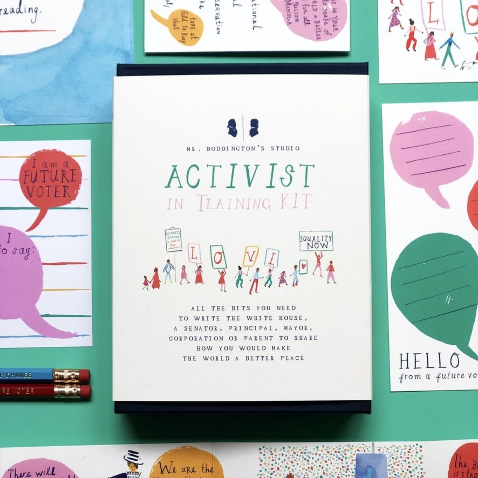 Mr. Boddington's Studio Activist Training Kit