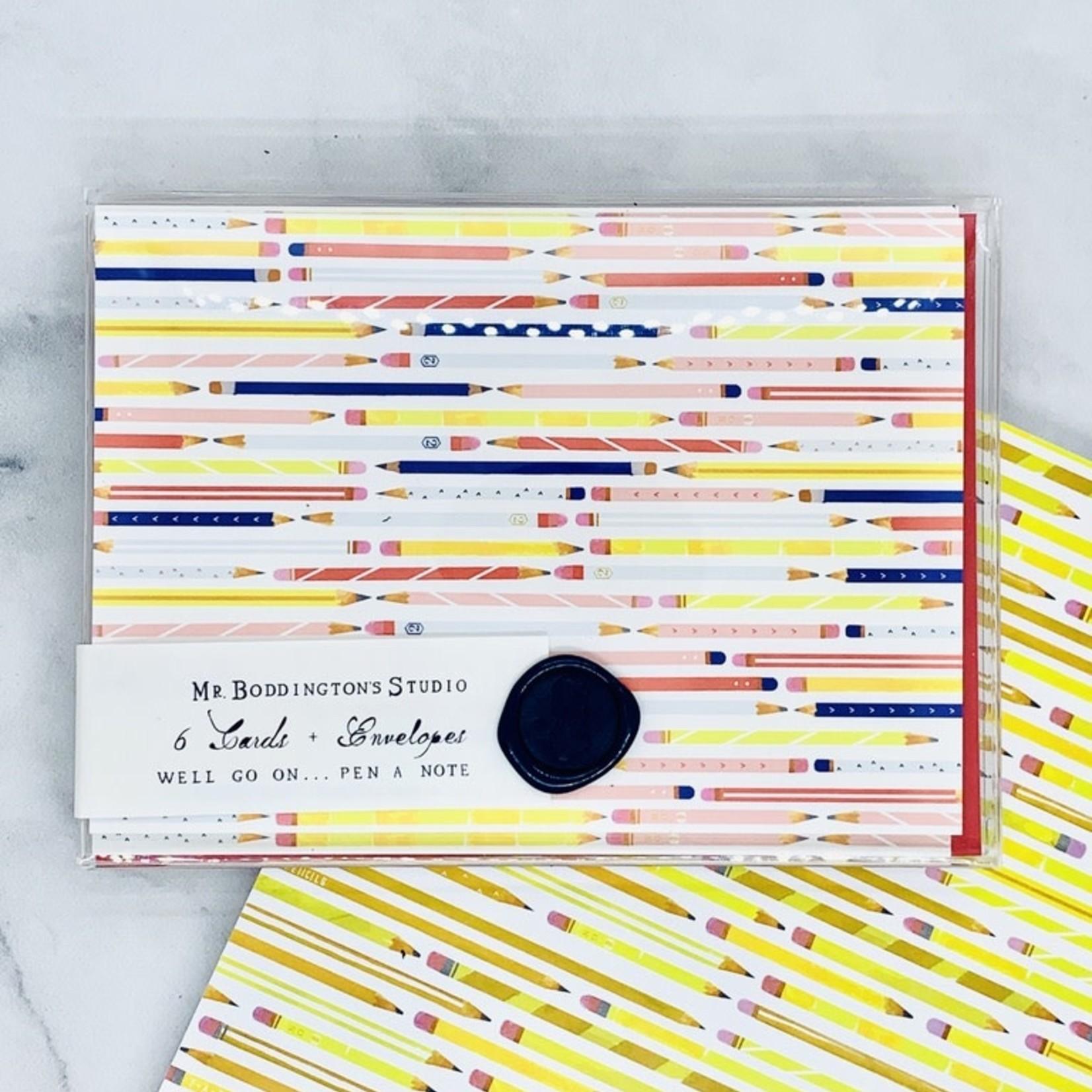 Mr. Boddington's Studio Bring Your Pencils Notecards
