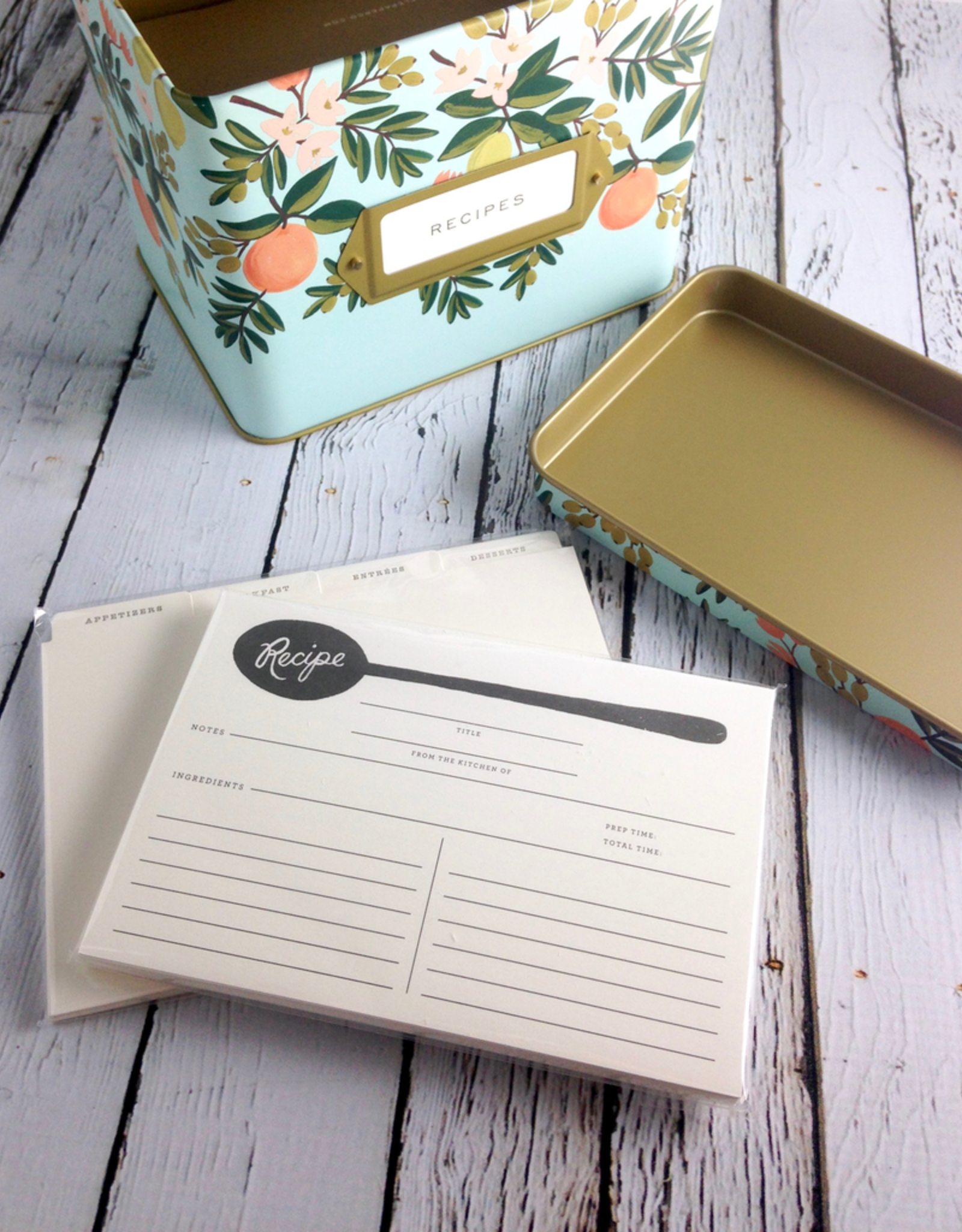 Rifle Paper Recipe Box: