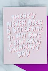 Craft Boner Never Been A Better Time Valentine Card