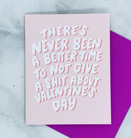 Craft Boner Never Been A Better Time Valentine Card