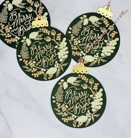 Rifle Paper Letterpress 2020 Ornament
