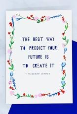 Mr. Boddington's Studio Predict the Future Card