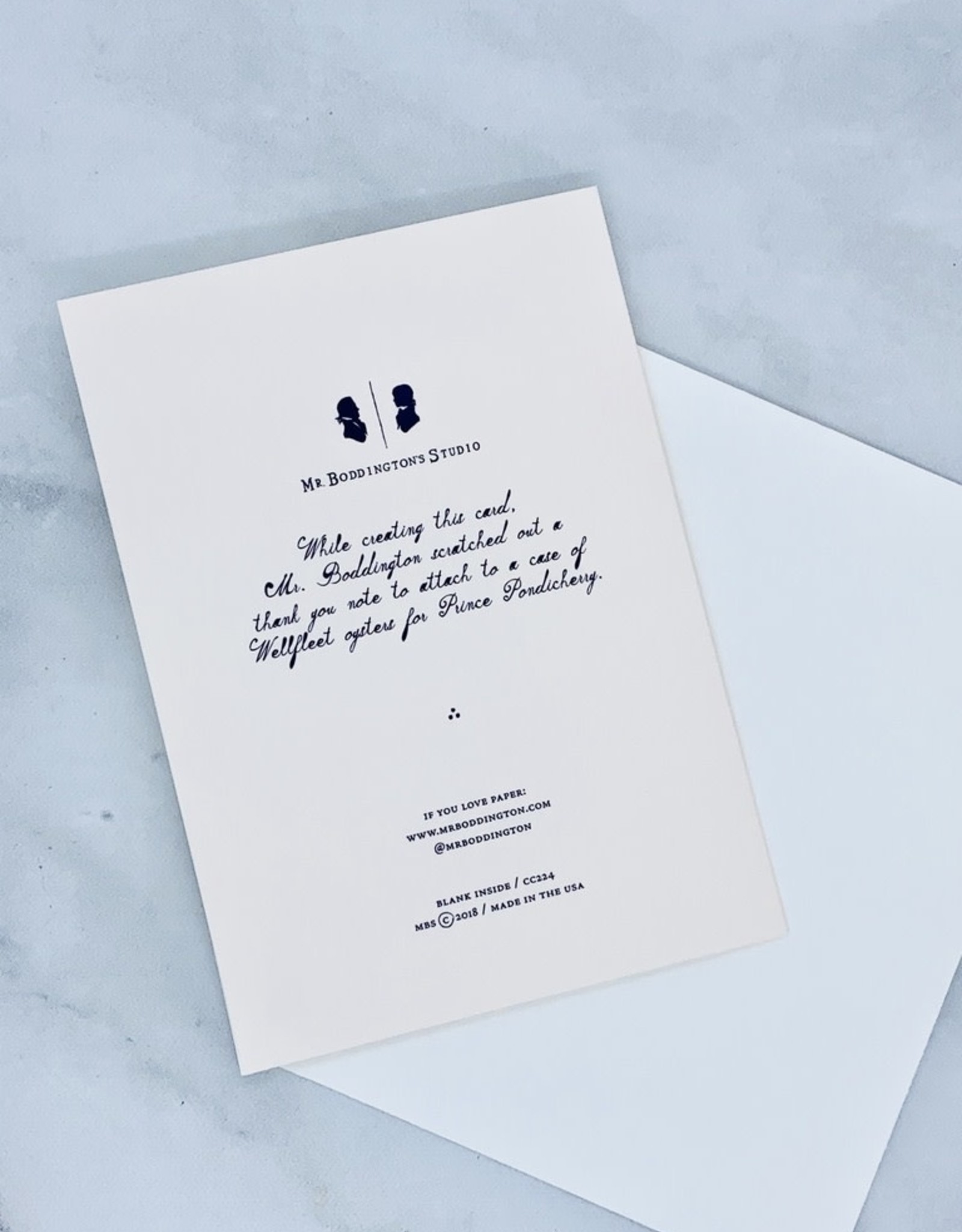 Mr. Boddington's Studio Boatloads Thank You Card