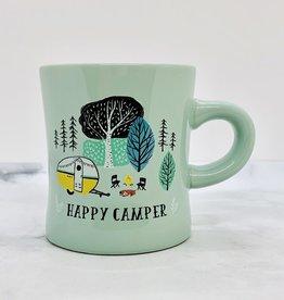 Happy Camper Diner Mug