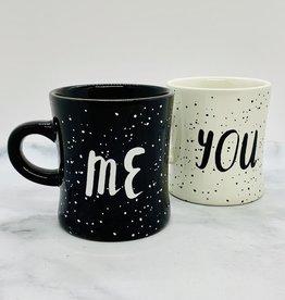 You and Me Diner Mug Set of 2