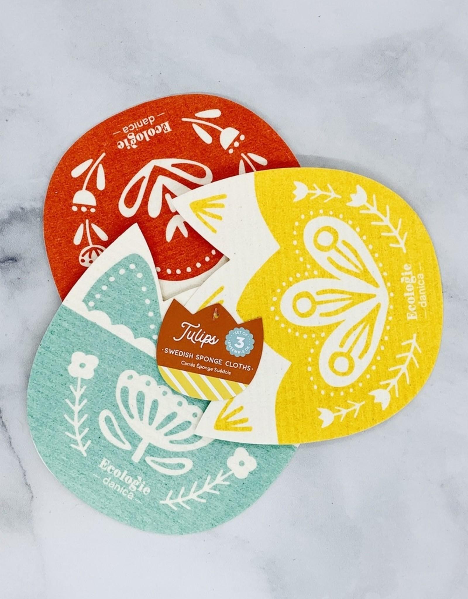 Swedish Dishcloth Shape Set of 3: