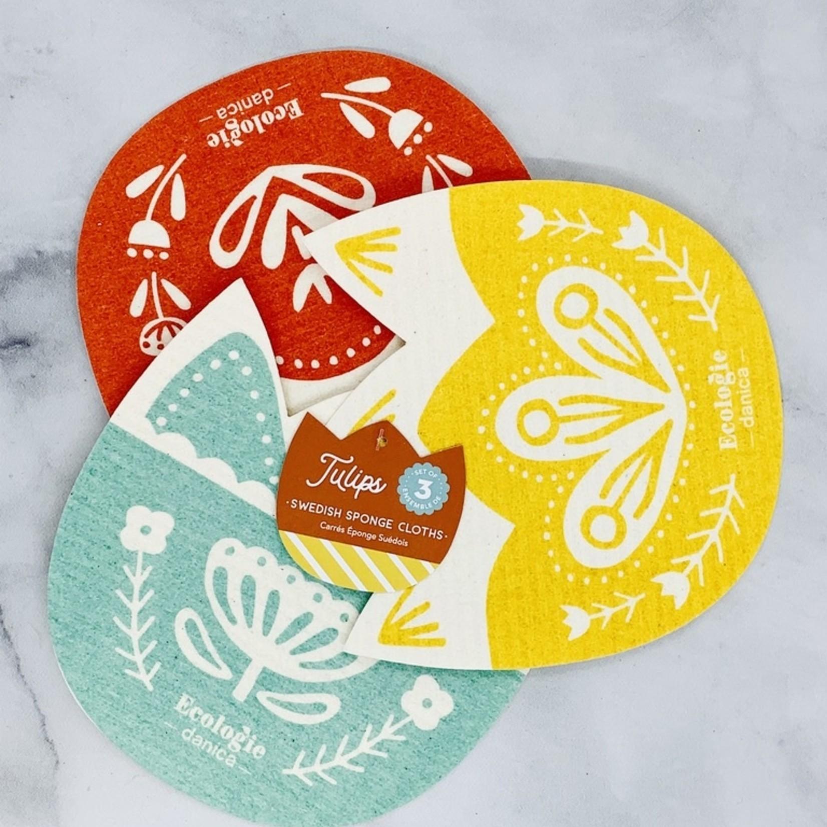 Swedish Dishcloth Shape Set of 3
