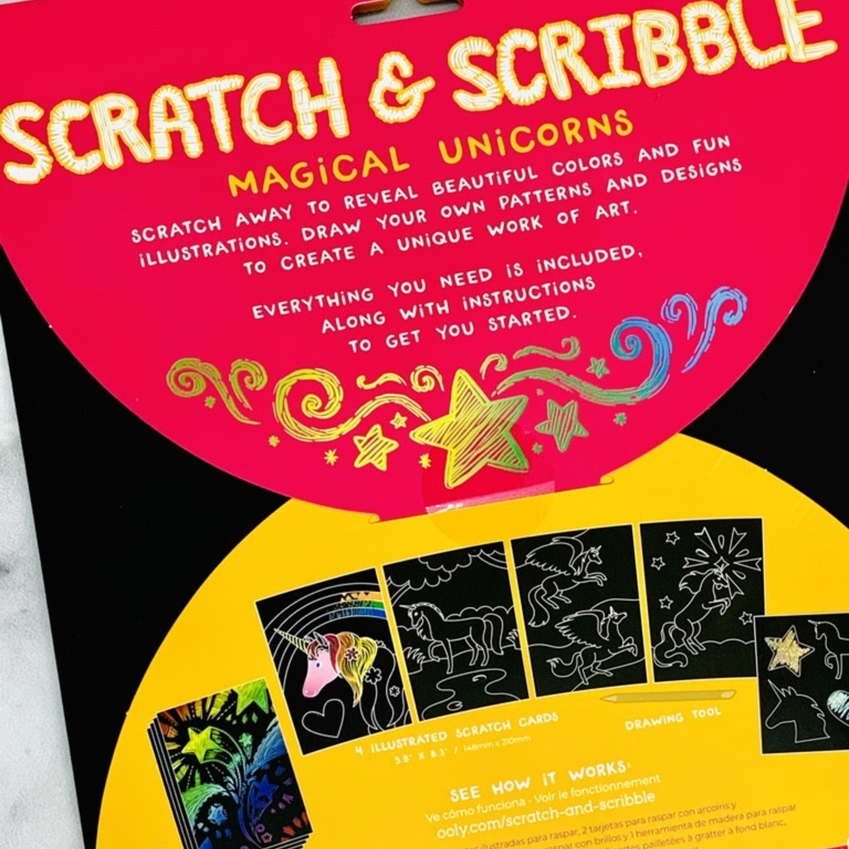 Scratch & Scribble: Magical Unicorns