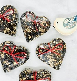Little Heart Birdseed Treat