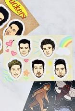 Hannah Lee Scott NSYNC Sticker Sheet