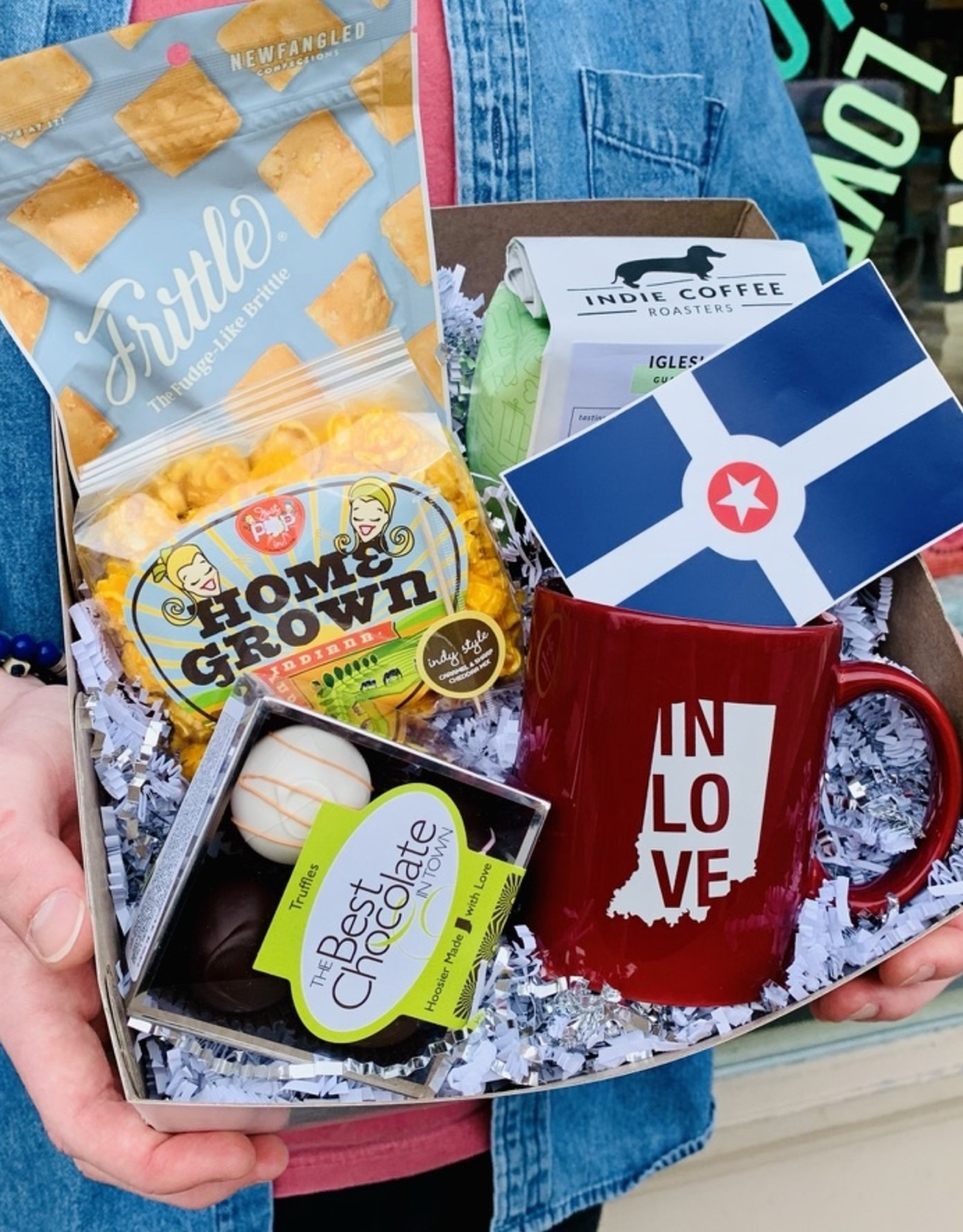 Our Taste of Indiana Gift Box is one of our most popular!