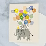 Welcome Elephant Card