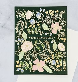 With Gratitude Card