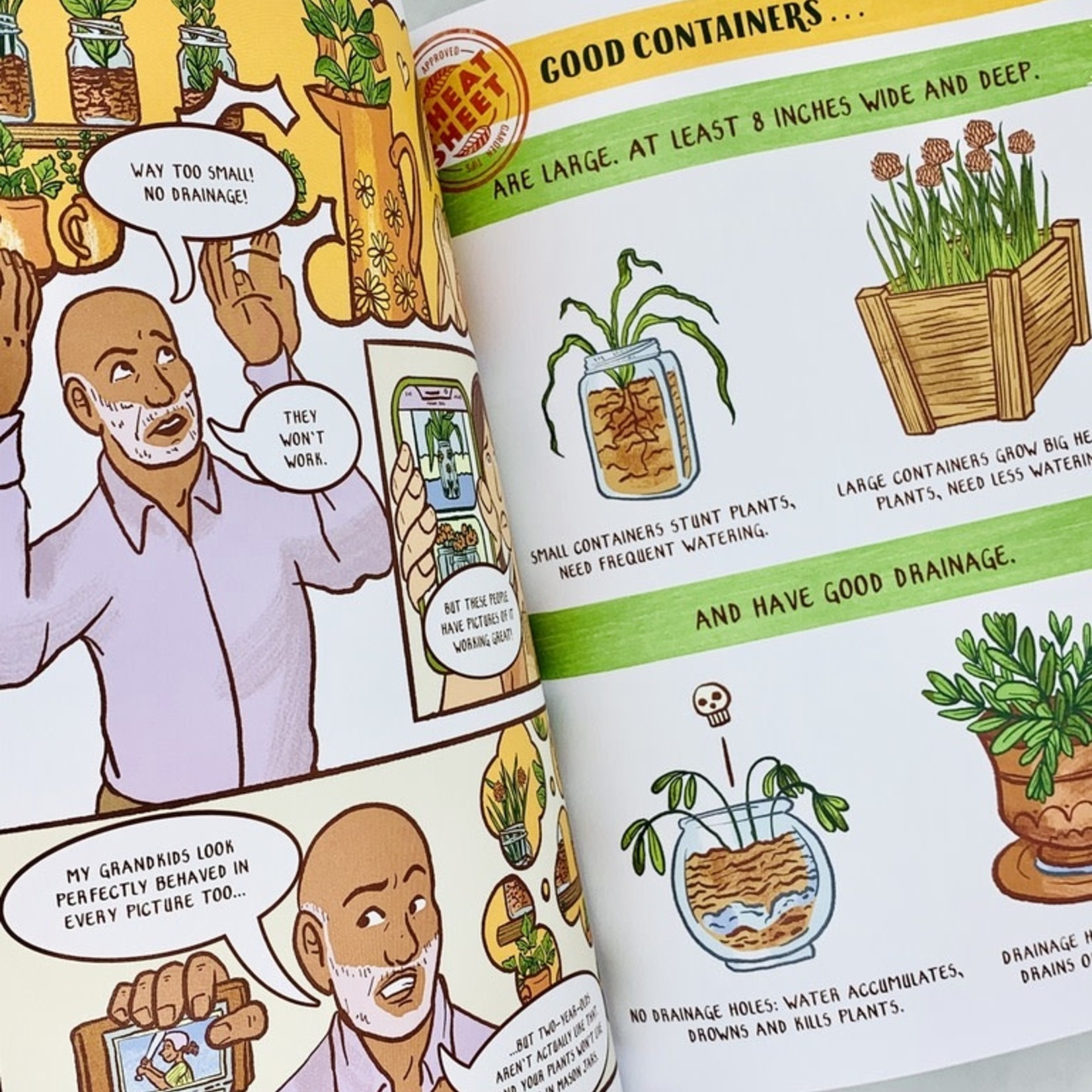 The Comic Book Guide to Growing Food