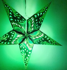Green Nebula Star Light with 12' Cord