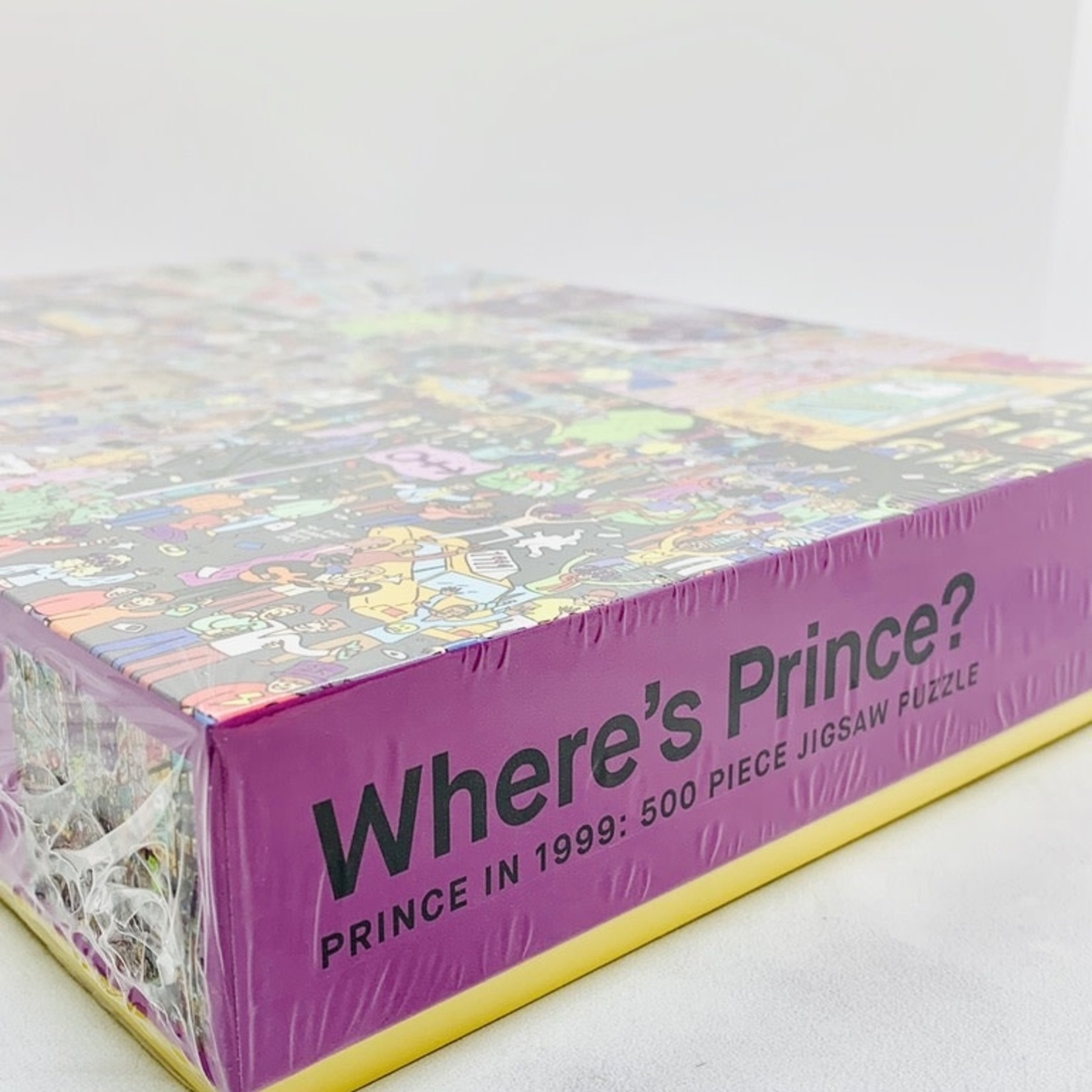 Where's Prince? Prince in 1999 500pc Puzzle