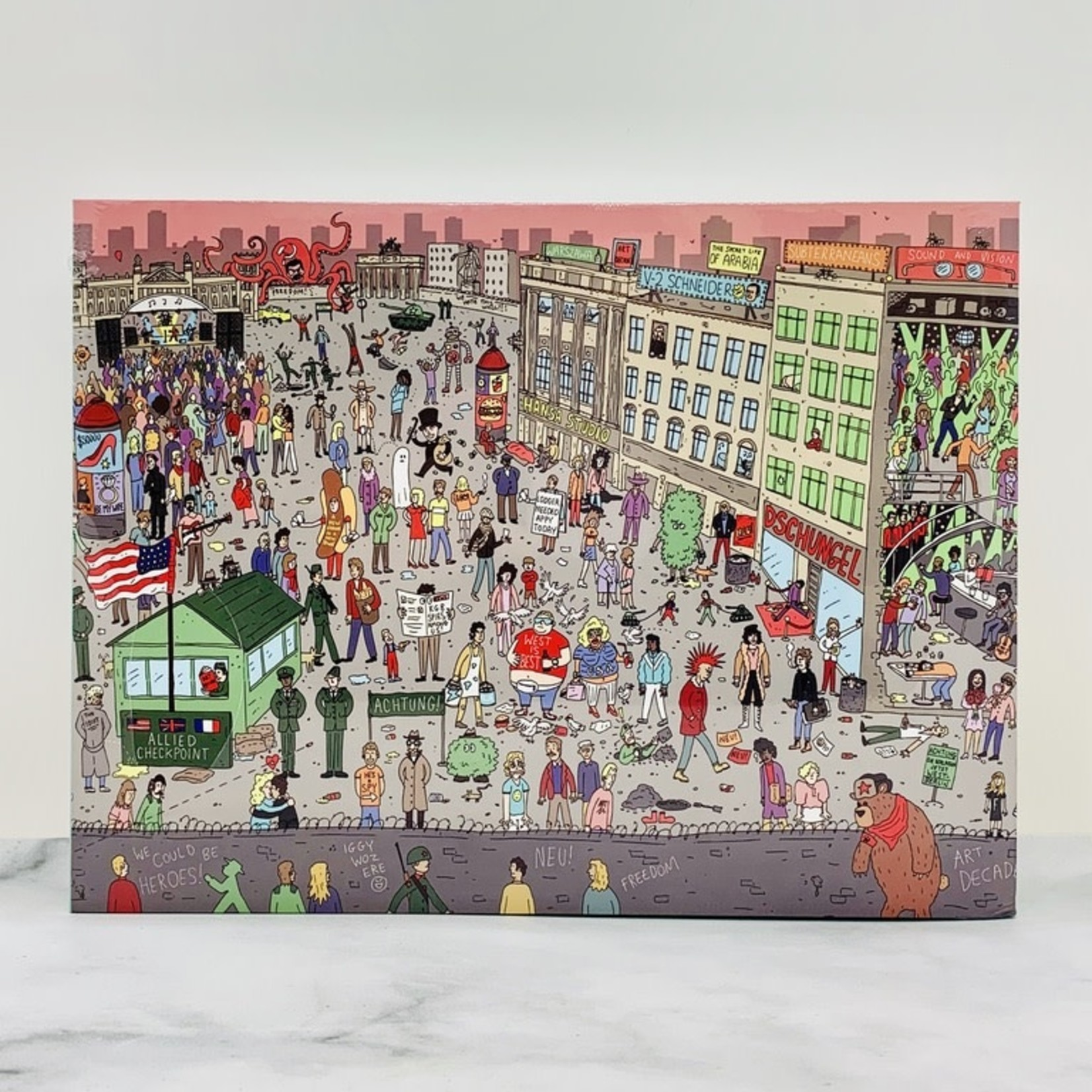 Where's Bowie? David Bowie in 70s Berlin 500pc Puzzle