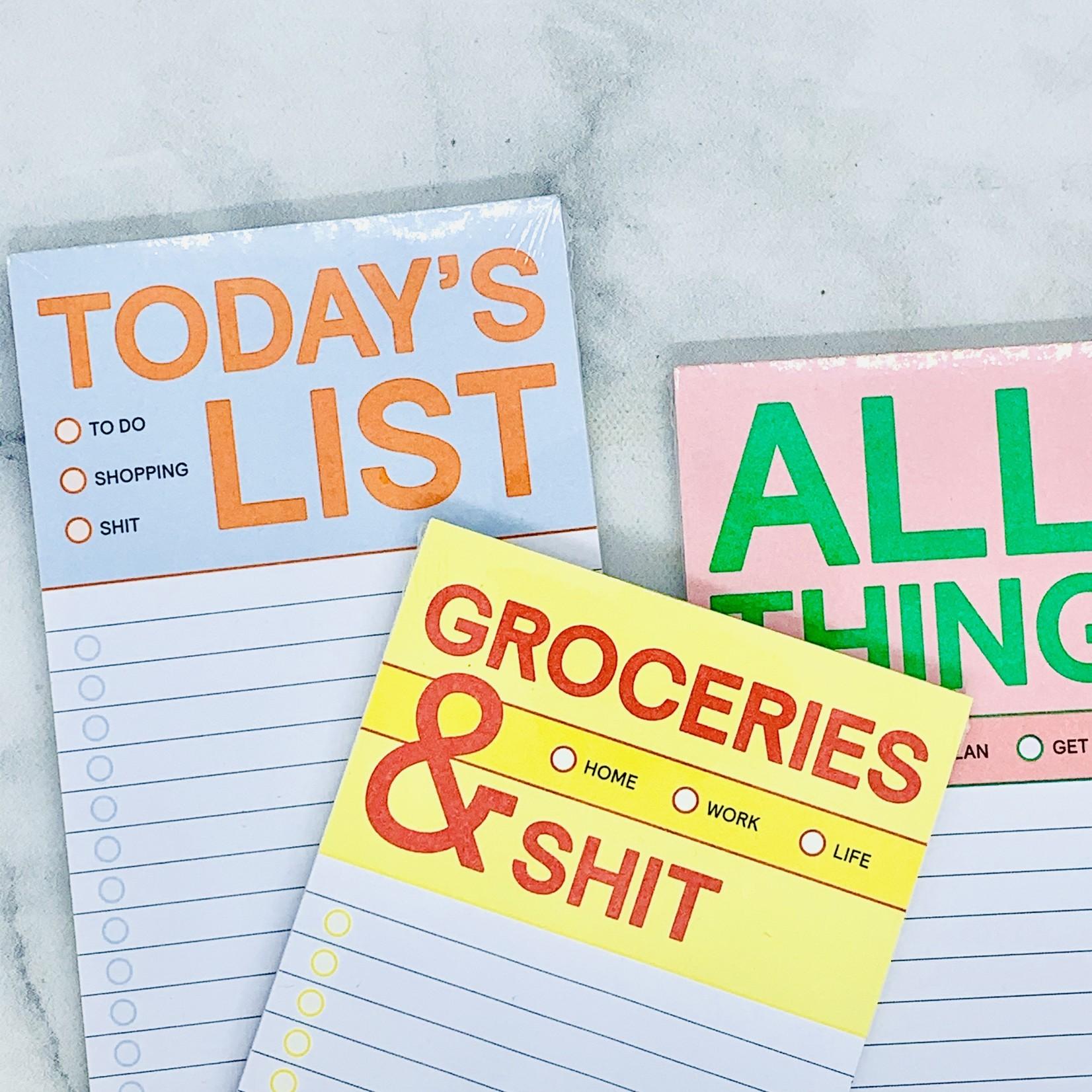 Make-A-List Pad: