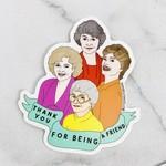 Bold Golden Girls Sticker