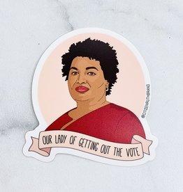 Stacey Abrams Sticker