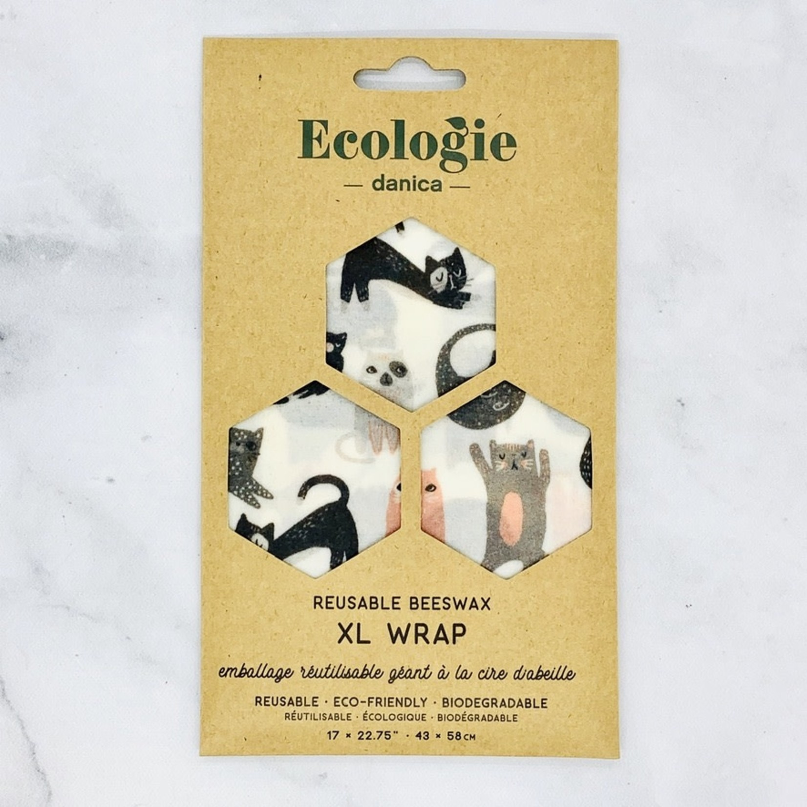 Bee's Wax Wrap XL Cats