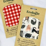 Bee's Wax Wraps 2 Sandwich Bags