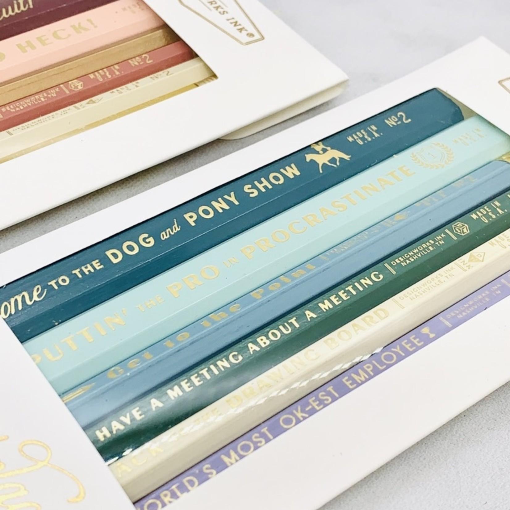 Design Works Standard Issue Pencil Set: