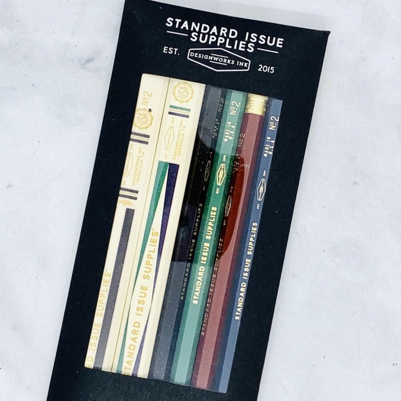 Design Works Standard Issue Pencil Set