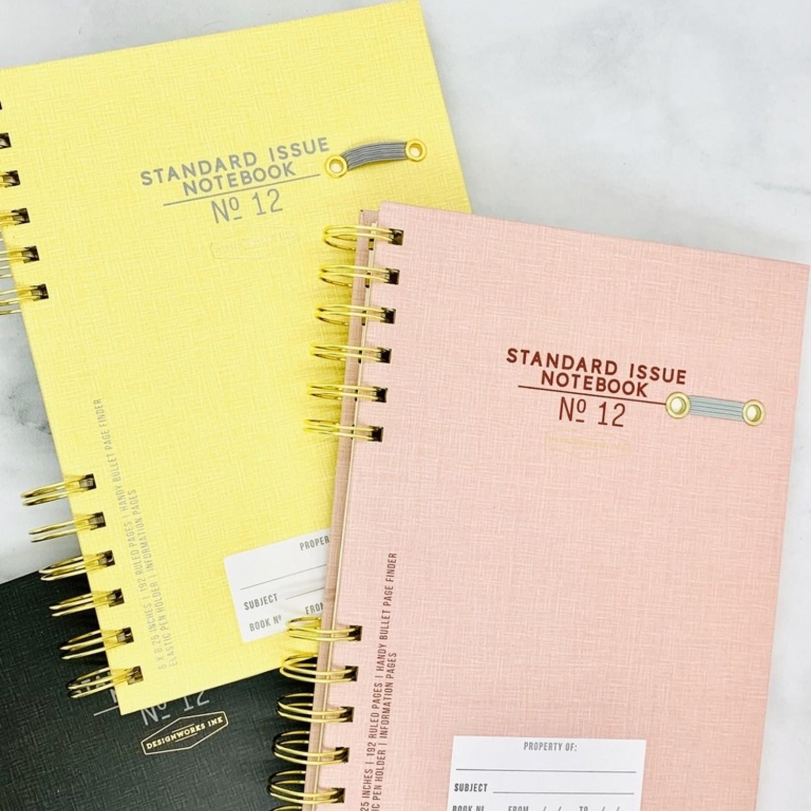 Design Works Standard Issue No. 12 Undated Planner: