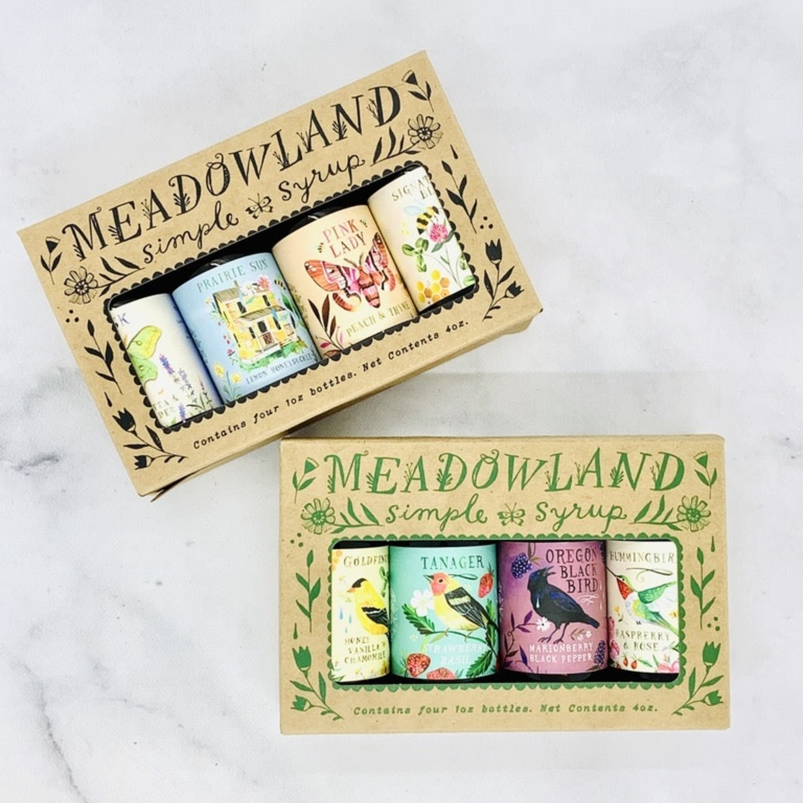 Meadowland Syrup Meadowland Simple Syrup Collection: